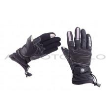 Перчатки   SCOYCO   (size:L, черные, текстиль), пара