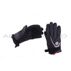Перчатки   SCOYCO   (size:XL, черные, текстиль) (mod:1), пара