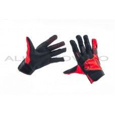 Перчатки   THOR   (черно-красные, size L), пара