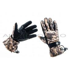 Перчатки   SCOYCO   (камуфляж, асфальт size XL), пара