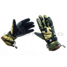 Перчатки   SCOYCO   (камуфляж, зелено-коричневые size L), пара
