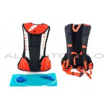 Рюкзак (черно-бело-оранжевый, зауженный)   KTM, шт