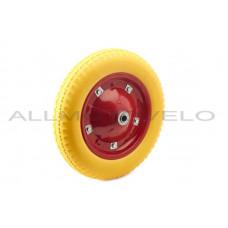 """Колесо   3,00 -8   TL   (бескамерное, под ось D-16мм )   """"MRHD""""   (желтое)"""