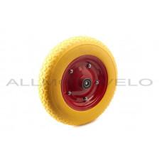 """Колесо   3,50 -8   TL   (бескамерное, под ось d-20мм )   """"MRHD""""   (желтое)"""