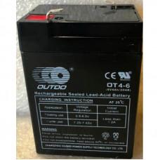 АКБ 6V4,5A (70x100x47) для детских электромобилей