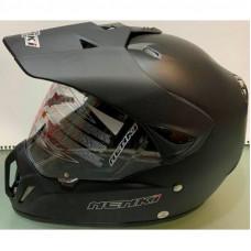 Шлем кроссовый NENKI MX-310 чёрный мат