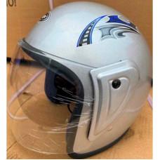 Шлем серебряный без бороды (открытый)