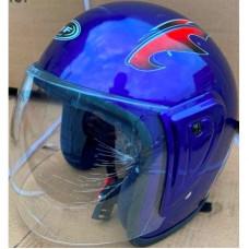 Шлем синий без бороды (открытый)
