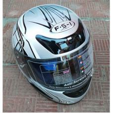 """Шлем """"Мустанг"""" В-38 серый с черным"""