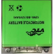АКБ 12V5A JAWA ACTIV зелёный 120*130*61