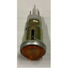Глазок панели приборов МТ жёлтый с лампочкой
