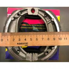 Колодки тормозные барабанные  DELTA, JOG-50, GY6 ,ACTIV,